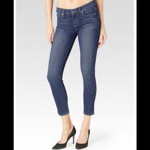PAIGE // Verdugo Crop Skinny Jeans 28